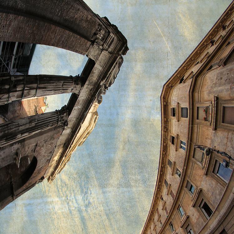 Rome, Ghetto - Portico di Ottavia