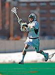 23 March 2008: University of Vermont Catamounts' Luke LaBranche, a Junior from Cold Spring Harbor, NY, in action against the Bellarmine University Knights at Moulton Winder Field, in Burlington, Vermont. The Catamounts defeated the visiting Knights 9-7 at the Vermont home opener...Mandatory Photo Credit: Ed Wolfstein Photo