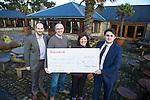 Redrow Homes Cheque Presentation