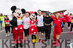 Former Rose of Tralee Maria Walsh, Poshie Aherne and friends at the Valentines 10 mile road race in Tralee, on Sunday morning last.