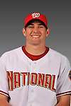 14 March 2008: ..Portrait of Craig Stammen, Washington Nationals Minor League player at Spring Training Camp 2008..Mandatory Photo Credit: Ed Wolfstein Photo