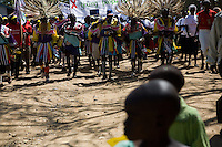 A parade to mark World AIDS Day on the hospital grounds in Homa Bay, Kenya
