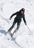 Princess Caroline of Hanover and daughter Alexandra enjoying ski vacation in Austria