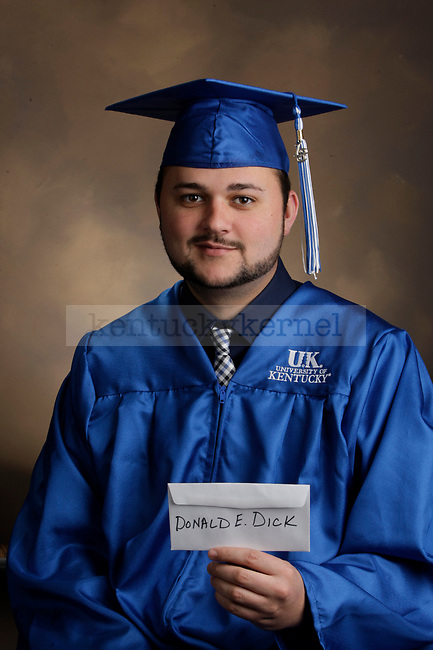 Dick, Donald E. photographed during the Feb/Mar, 2013, Grad Salute in Lexington, Ky.