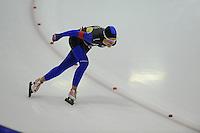 SCHAATSEN: HEERENVEEN: 25-10-2014, IJsstadion Thialf, Trainingswedstrijd schaatsen, Miranda Dekker, ©foto Martin de Jong