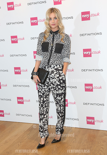 Laura Whitmore at the Launch party for Very.co.uk introducing the new fashion brand Definitions at Somerset House<br /> London. 04/09/2013 Picture by: Henry Harris / Featureflash