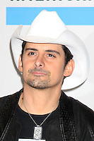 LOS ANGELES - NOV 21:  Brad Paisley in the Press Room of the 2010 American Music Awards at Nokia Theater on November 21, 2010 in Los Angeles, CA