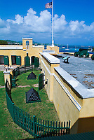 Fort Christiansvaern, <br /> Christiansted National Historic Site, <br /> St. Croix, US Virgin islands