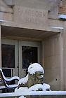 Mar. 21, 2013; Lion outside Pangborn Hall..Photo by Matt Cashore/University of Notre Dame
