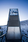 Limited edition C-Type Prints available - contact me for more details.<br /> <br /> Nestled into the rocky waste of plataberget Mountain about Svalbard's airport, the Global Seed Vault is at once startling and innocuous. Designed by architect Peter W. S&oslash;derman at Barlindhaug Consulting, this concrete, steel and glass structure is the first layer of security to a repository of millions of seeds from around the world, stored here in case of disaster, disease, or war...The Svalbard Global Seed Bank is situated 120 metres (390 ft) inside a sandstone.mountain at Longyearbyen on Spitsbergen Island, in the Svalbard archipelago about 1300km from the North Pole. Svalbard was considered ideal for the bank, due to low tectonic activity and its permafrost, which will aid preservation. Even if sea levels rise due to climate change - and the melting of ice caps, the seeds will be safe and dry , as they are stored at a location 130 metres (430 ft) above sea level. ..The Svalbard Global Seed Vault  provides a safety net against accidental loss of diversity from traditional storage within genebanks around the world, and has a capacity for 4.5 million seeds. Although the media has made much of the &quot;Doomsday Vault's&quot; role in providing security in the face of war or or catastrophe, the operators - the Norwegian government  and the Global Crop Diversity Trust and the Nordic Genetic Resource Center - say that it will be most useful when genebanks lose samples due to mismanagement, accident, equipment failures, funding cuts and natural disasters.