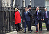 Barack Obama <br /> 44th U.S. President arrives in Downing Street to meet David Cameron the British Prime Minister.<br /> <br /> <br /> Downing Street, London, Great Britain <br /> 22nd April 2016 <br /> <br /> Matthew Winthrop Barzun<br /> the United States Ambassador to the United Kingdom arrives in Downing Street <br /> <br /> <br /> Photograph by Elliott Franks <br /> Image licensed to Elliott Franks Photography Services