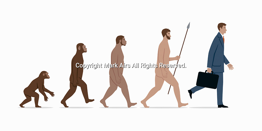 Evolution of the businessman