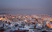 New Town of Tetouan in the Rif Mountains of Northern Morocco. Tetouan was of particular importance in the Islamic period from the 8th century, when it served as the main point of contact between Morocco and Andalusia. After the Reconquest, the town was rebuilt by Andalusian refugees who had been expelled by the Spanish. Picture by Manuel Cohen