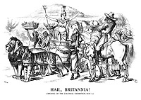 Hail, Britannia! (Opening of the Colonial Exhibition, May 4.)