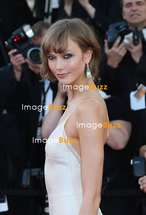 CPE/Karlie Kloss attends the 'The Immigrant' premiere during The 66th Annual Cannes Film Festival at the Palais des Festivals on May 24, 2013 in Cannes, France.