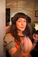 Annuska. Karin's birthday party.  Mexico City
