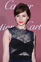 PALM SPRINGS, CA, USA - JANUARY 03: Felicity Jones arrives at the 26th Annual Palm Springs International Film Festival Awards Gala Presented By Cartier held at the Palm Springs Convention Center on January 3, 2015 in Palm Springs, California, United States. (Photo by David Acosta/Celebrity Monitor)