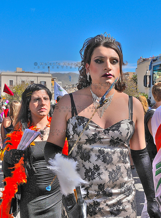 Palermo, first gay pride in Sicily.<br /> Palermo, primo gay pride in Sicilia.