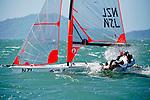 New Zealand29erMenCrewNZLNE2NickEgnot Johnson<br /> New Zealand29erMenHelmNZLJK9JacksonKeon<br /> Day2, 2015 Youth Sailing World Championships,<br /> Langkawi, Malaysia