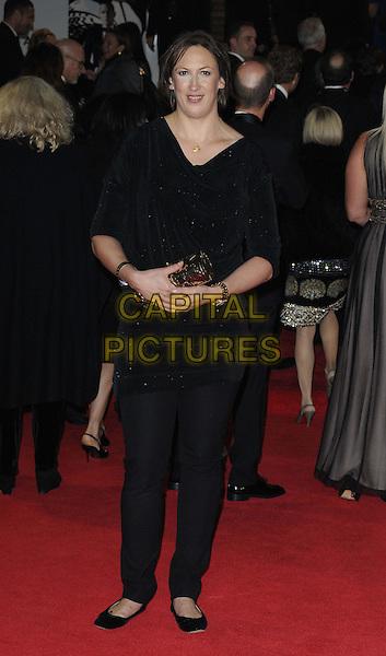 Miranda Hart.'Skyfall' Royal World Film Premiere, Royal Albert Hall, Kensington Gore, London, England..23rd October 2012.full length black top trousers .CAP/CAN.©Can Nguyen/Capital Pictures.