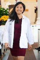 Katherine Wang. Class of 2017 White Coat Ceremony.