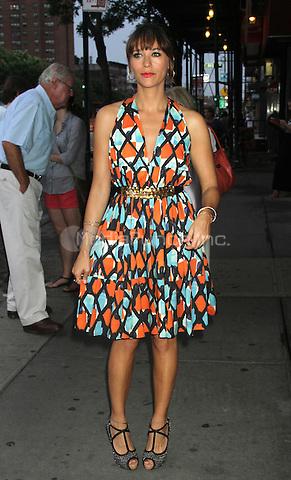 NEW YORK CITY, NY - August  01, 2012: Rashida Jones at the screening of 'Celeste and Jess Forever' at the Sunshine Landmark Theater in New York City. © RW/MediaPunch Inc.