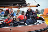 ZEILEN: TERHERNE: Snitser Mar, SKS skûtsjesilen, ©foto Martin de Jong