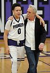 2-5-16, Pioneer High School basketball Teacher Appreciation Night