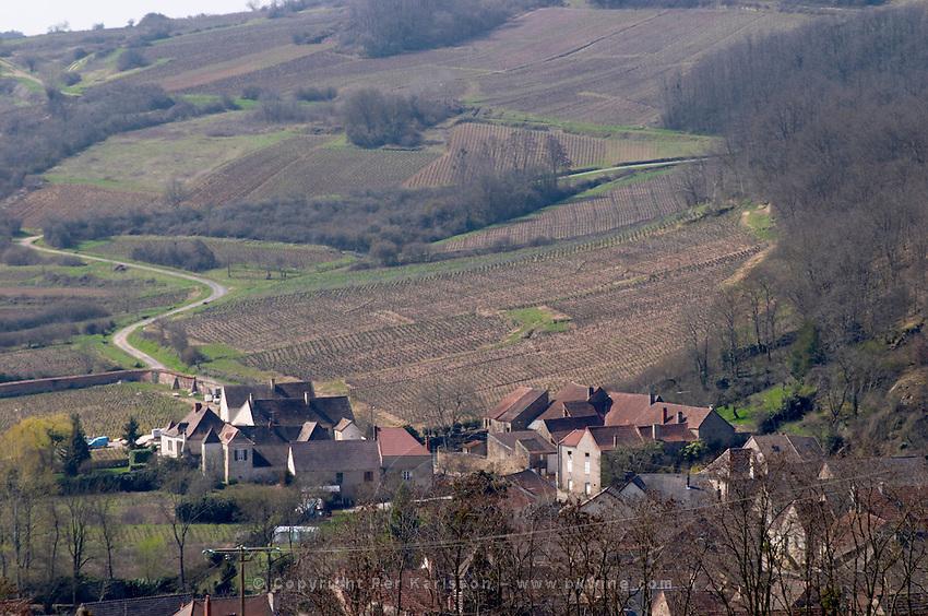 neighbouring village dezize les maranges santenay cote de beaune burgundy france