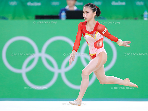 Aiko Sugihara (JPN), <br /> AUGUST 9, 2016 - Artistic Gymnastics : <br /> Women's Final <br /> Floor Exercise <br /> at Rio Olympic Arena <br /> during the Rio 2016 Olympic Games in Rio de Janeiro, Brazil. <br /> (Photo by Sho Tamura/AFLO SPORT)