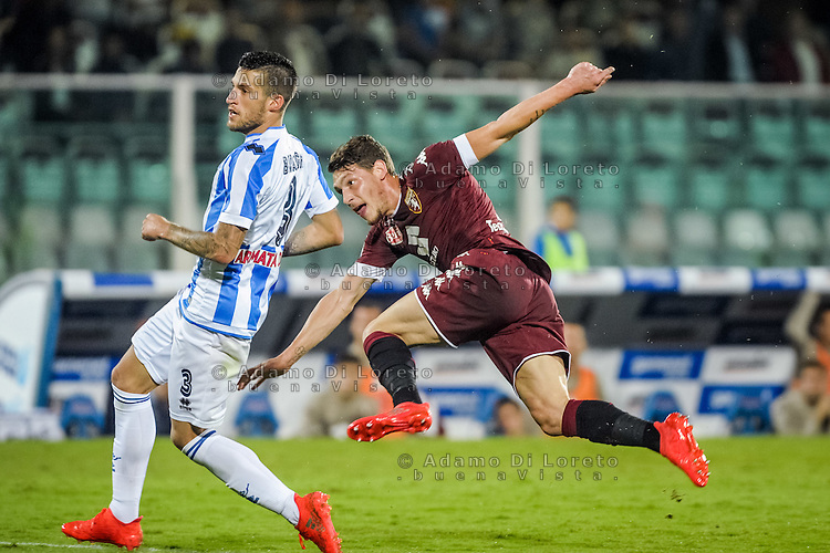 Belotti Andrea (Torino) during the Italian Serie A football match Pescara vs Torino on September 21, 2016, in Pescara, Italy. Photo di Adamo Di Loreto/BuenaVista*photo