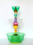 Brunno Jahara (Brazilian , b. 1979), Fruit bowl, from Multiplastica Domestica<br /> collection, 2012; Plastic and aluminum;<br /> 60 x 35 cm diam. (23 5&frasl;6 x 13&frac34; in.)