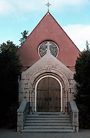 St. John's Episcopal Church, Monterey, CA. Ernest Coxhead, 1891.  Photo '85.