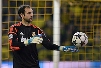 FUSSBALL  CHAMPIONS LEAGUE  HALBFINALE  HINSPIEL  2012/2013      Borussia Dortmund - Real Madrid              24.04.2013 Diego Lopez (Real Madrid)