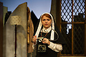 London, UK. 17.07.2014. Mountview Academy of Theatre Arts presents THE HOUSE OF BLUE LEAVES, by John Guare, directed by Jacqui Somerville, at the Unicorn Theatre, as part of the Postgraduate Season 2014. Picture shows: Claudia Campbell (Little Nun). Photograph © Jane Hobson.