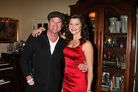 LOS ANGELES - DEC 17:  Winsor Harmon, Heather Tom at the 2011 Tom / Achor Annual Christmas Party at Private Home on December 17, 2011 in Glendale, CA