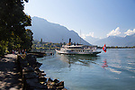 Montreux is a municipality in the district of Riviera-Pays-d'Enhaut in the canton of Vaud in Switzerland.  It is located on Lake Geneva at the foot of the Alps.