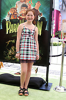 "LOS ANGELES - AUG 5:  Emma Kenney arrives at the ""ParaNorman"" Premiere at Universal CityWalk on August 5, 2012 in Universal City, CA"