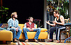 The Motherfucker With the Hat <br /> by Stephen Adly Guirgis <br /> directed by Indu Rubasingham <br /> at the Lyttelton Theatre, National Theatre, London, Great Britain <br /> press photocall <br /> 15th June 2015 <br /> <br /> Alex Newman as Ralph <br /> Yul Vazquez as Julio <br /> Ricardo Chavira as Jackie <br /> <br /> <br /> <br /> <br /> Photograph by Elliott Franks <br /> Image licensed to Elliott Franks Photography Services