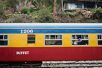 The tren macho's buffet car