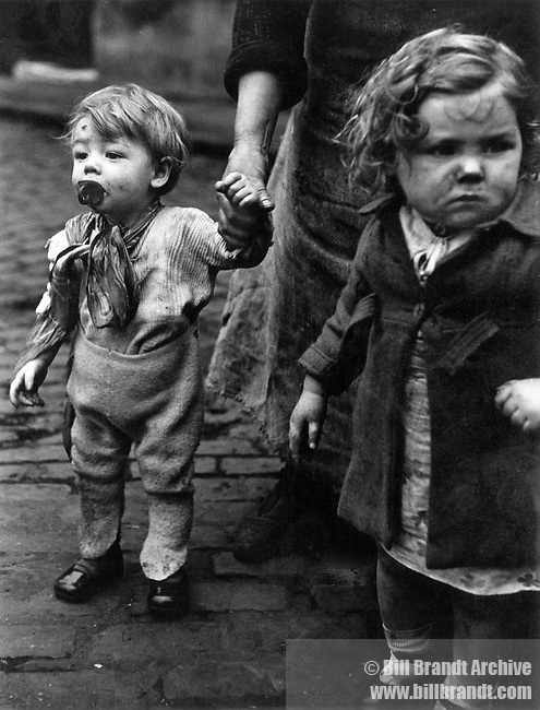 Children in Sheffield, 1930