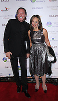 NEW YORK, NY-October 13:Larry Scott, Roseanna Scotto at the Global Lyme Alliance's 2016 United For A Lyme-Free World Gala at Cipriani 42nd Street in New York.October 13, 2016. Credit:RW/IMerdiaPunch