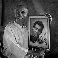 Amaradeva, is a Sri Lankan vocalist and musical composer. Primarily using traditional instruments like sitars, tablas and harmoniums, Amaradeva incorporates Sinhala folk music with Indian ragas in his work.