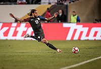 Chicago, IL - June 7, 2016: The U.S. Men's national team take a 3-0 lead over Costa Rica during a first round match at the 2016 Copa America Centenario at Soldier Field.