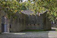 Espagne, Navarre, Pampelune: Remparts de Pampelune, le Fortin San Bartolomé, Centre d'Interprétation des Fortifications de Pampelune //  Spain, Navarre, Pamplona: City Walls of Pamplona,  Fortín de San Bartolomé, Interpretation Centre of the Fortifications of Pamplona