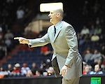 "Ole Miss coach Andy Kennedy vs. Grambling State during the second half at the C.M. ""Tad"" Smith Coliseum in Oxford, Miss. on Monday, November 14, 2011.."