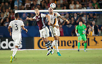 Carson, CA - August 13, 2016: The LA Galaxy and Colorado Rapids played to a 1-1 tie in a Major League Soccer (MLS) match at StubHub Center.