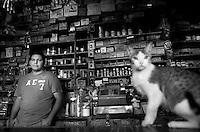 Antonio Guerrero Stepanenko. Hardware store owners in El Dorado, Sinaloa,  Mexico