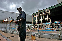 A Kenyan member of the 12-strong crew of the MV Rozen, a cargo ship which was hijacked by pirates off the coast of Puntland, Somalia after delivering a consignment of food aid. The ship and its crew were freed after forty days.