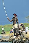 Fisherman, Lake Victoria
